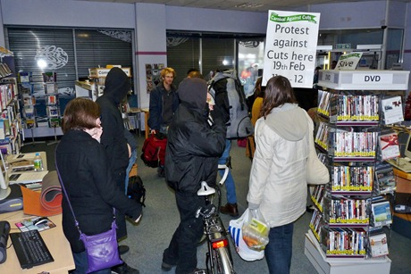 New Cross library occupation ends 006
