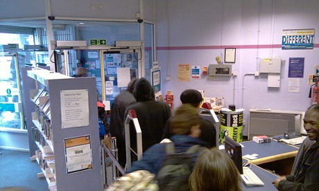 New Cross library occupation ends 021