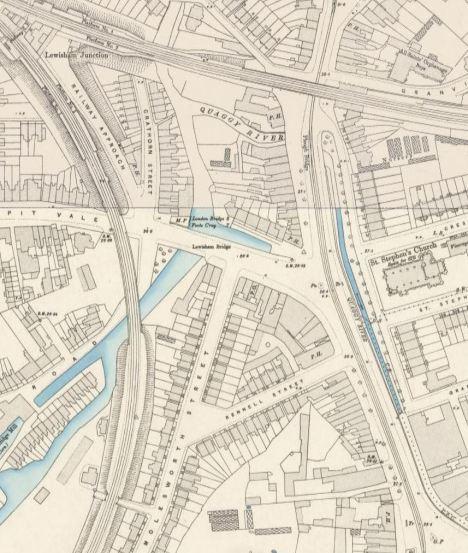 Lewisham Gateway in the 1890s