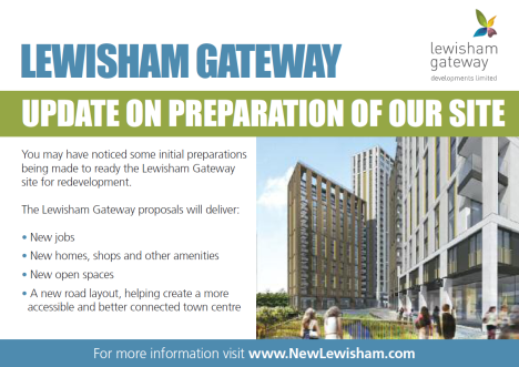 Lewisham Gateway Leaflet, March 2014