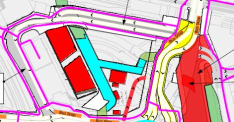 Lewisham Gateway snippet, Month 16