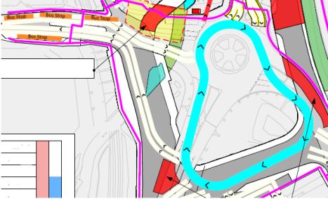 Lewisham Gateway snippet, Month 17