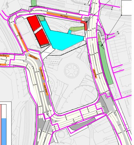 Lewisham Gateway snippet, Month 23