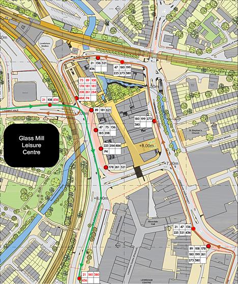 Interactive post-Lewisham Gateway bus plan
