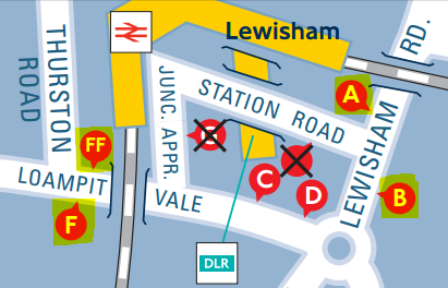 Bus stops affected by temporary changes during summer 2014